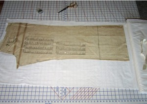 # 1 -Muslin Number 2 for Vogue 1051 Pants