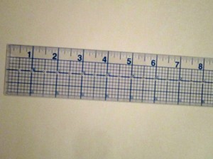 8 x 2 Ruler Close-Up - Resized
