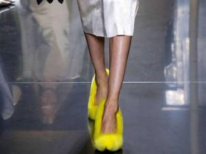 Celine-paris-fashion-week for spring 2013 fur pumps