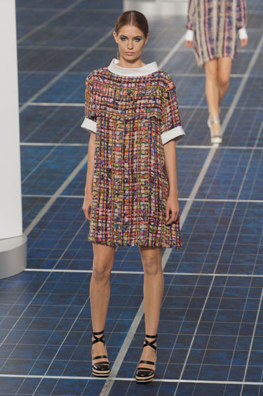 Chanel - Spring 2013 #25 Strappy Platforms and Comfort