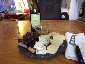 Wine and Cheese Moment