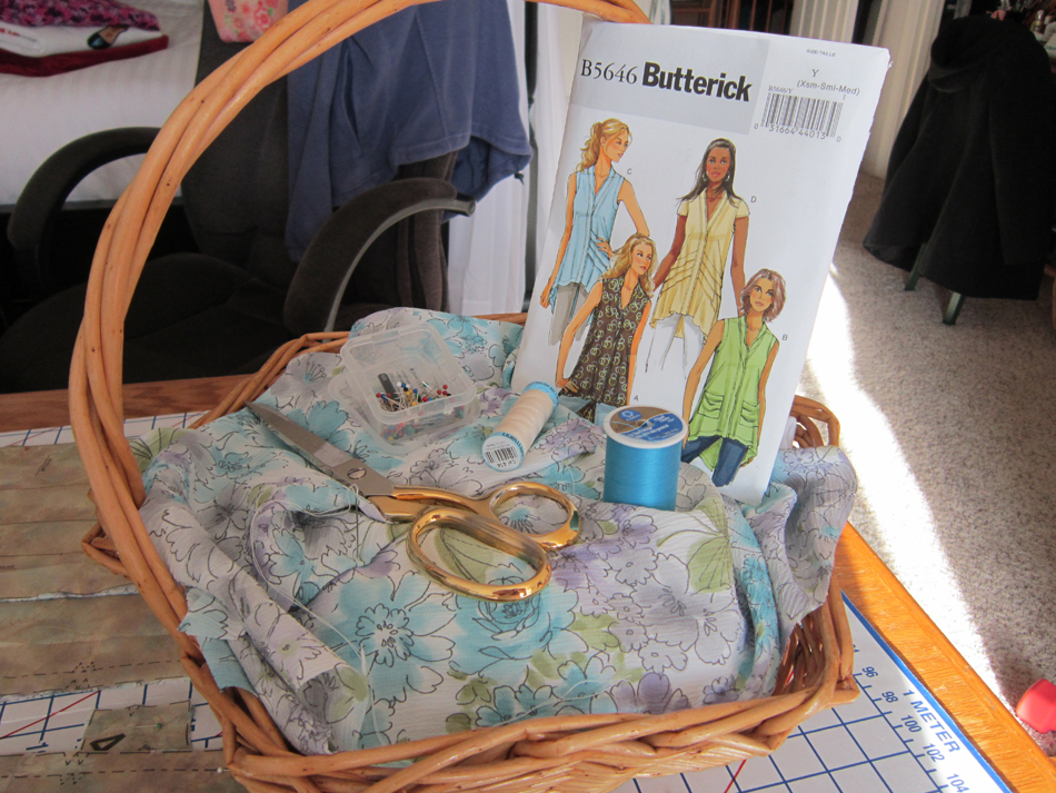 Butterick 5646 - Project