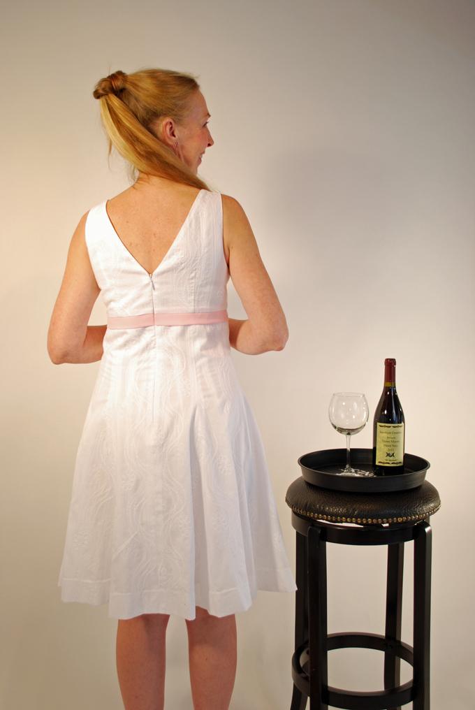 Little White Dress Back RS
