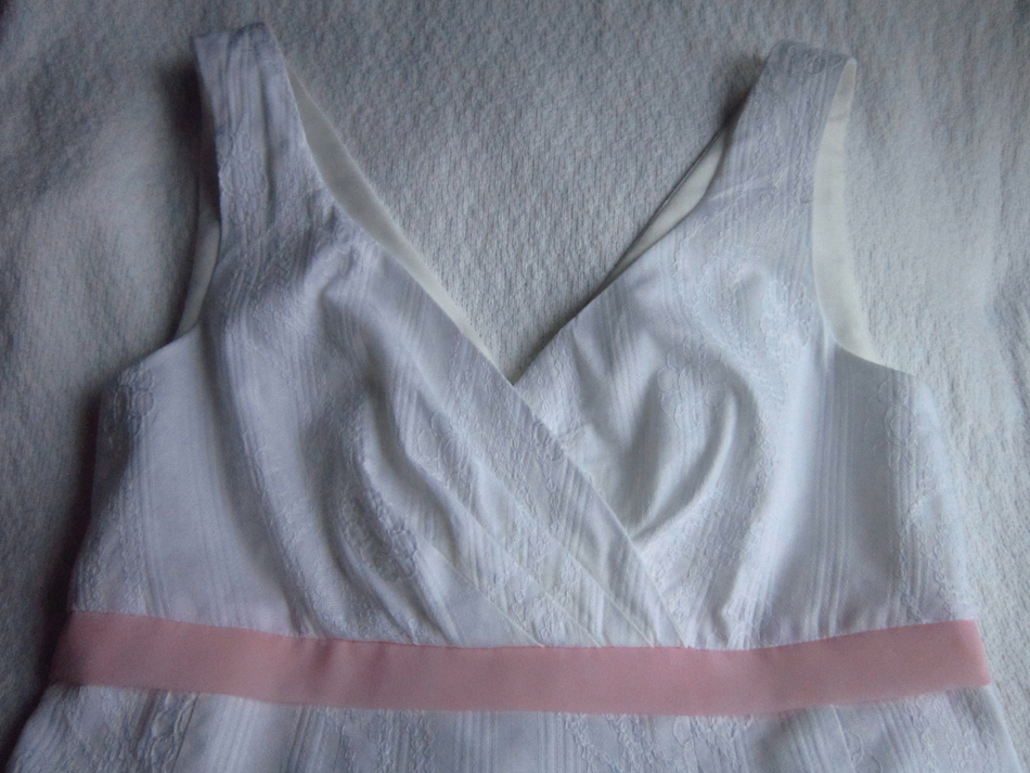Little White Dress Bodice Front RS