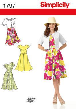 Simplicity 1797 - Summer Dress
