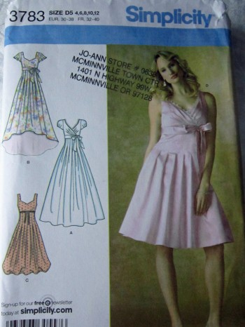 Simplicity 3783 RS