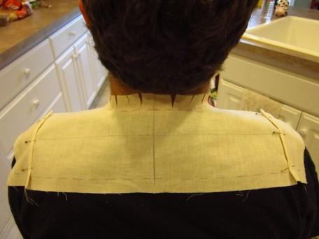Draping Shirt Yoke 2RS
